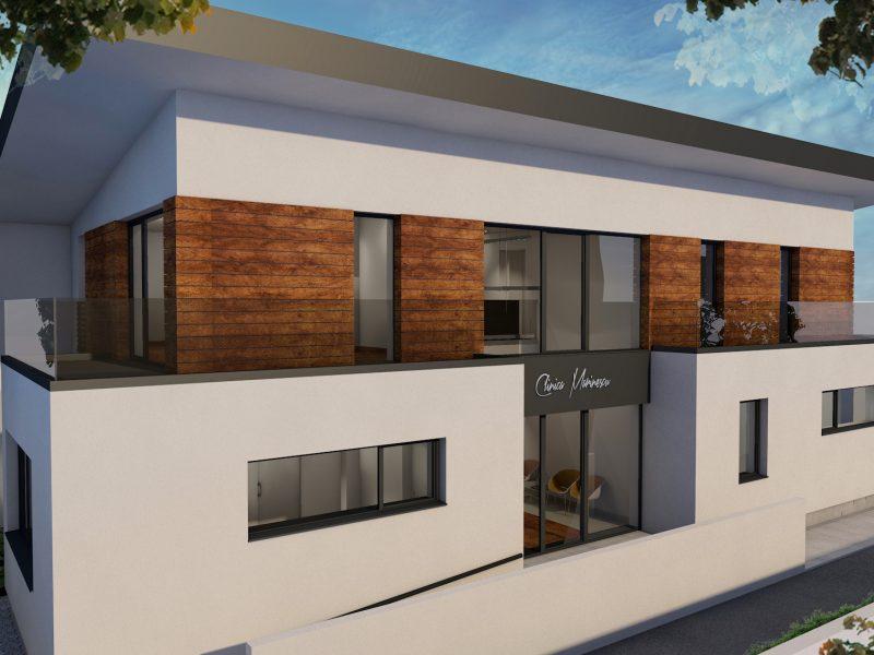 Clinică Medicală - Arhitectură Exterior 01