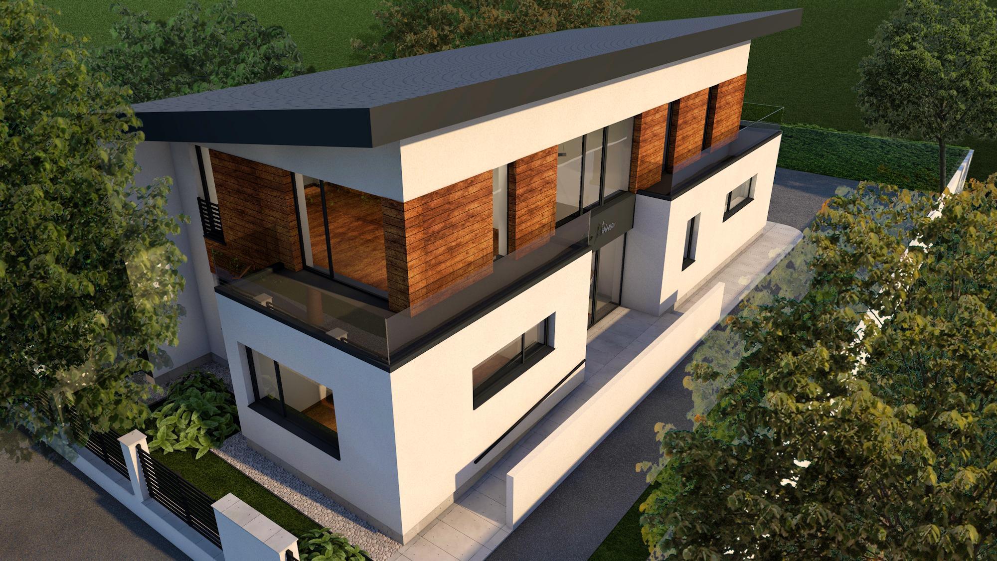 Clinică Medicală - Arhitectură Exterior 02