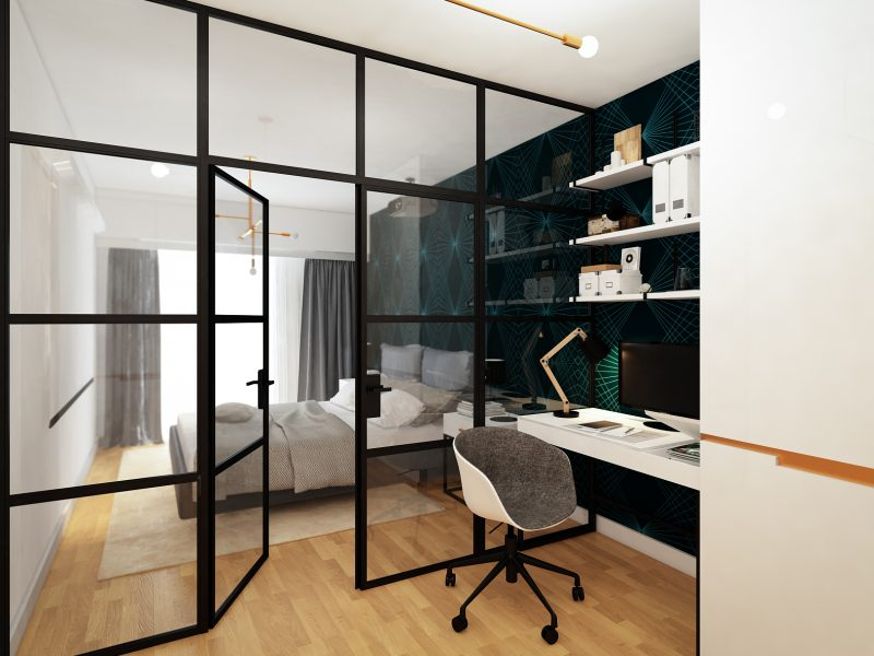 Design de interior apartament pipera - birou