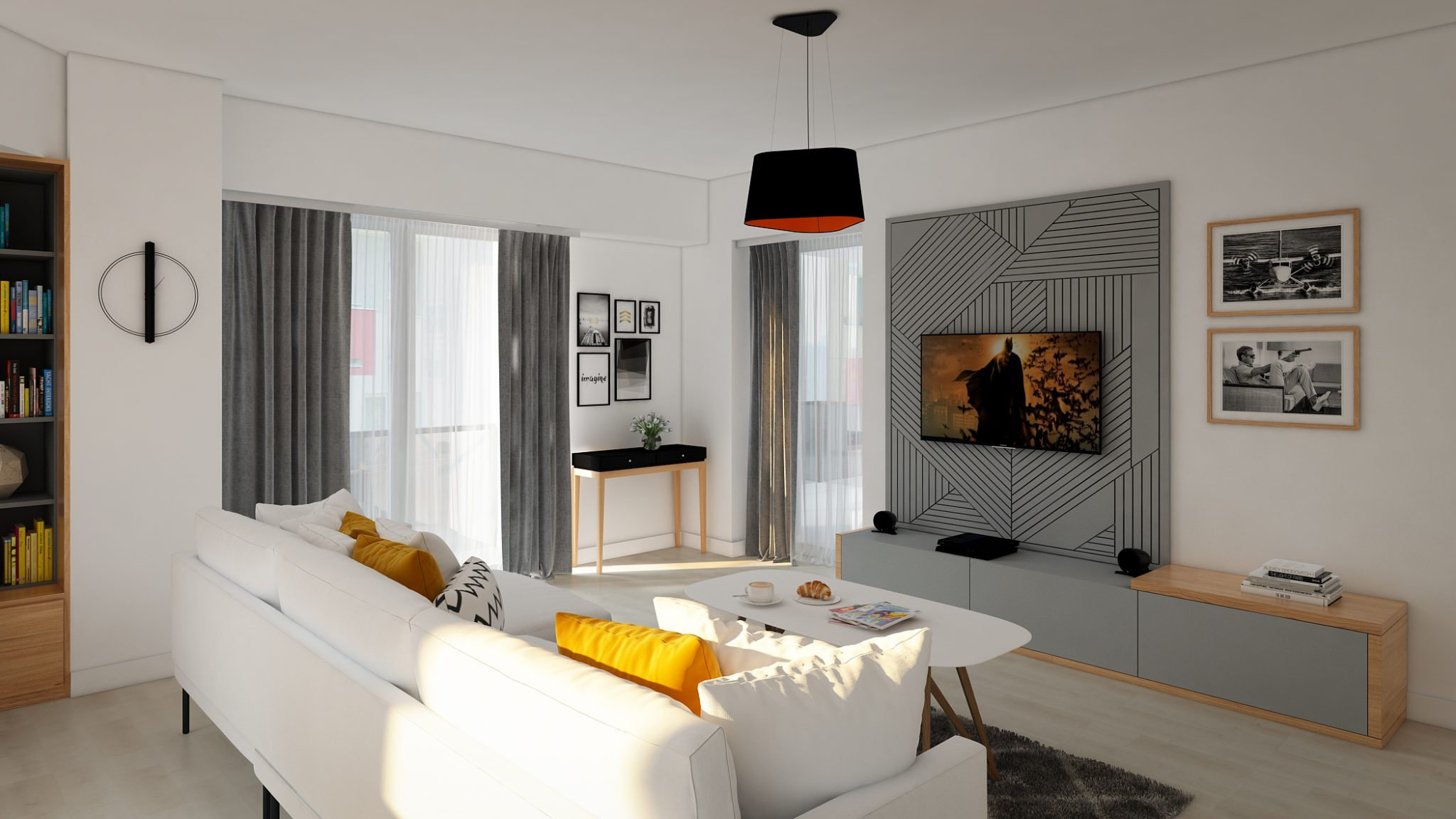 design interior apartament pitesti living