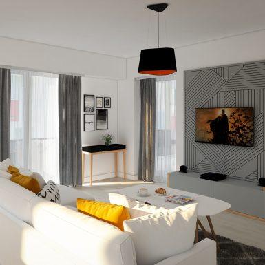 design interior apartament pitesti living