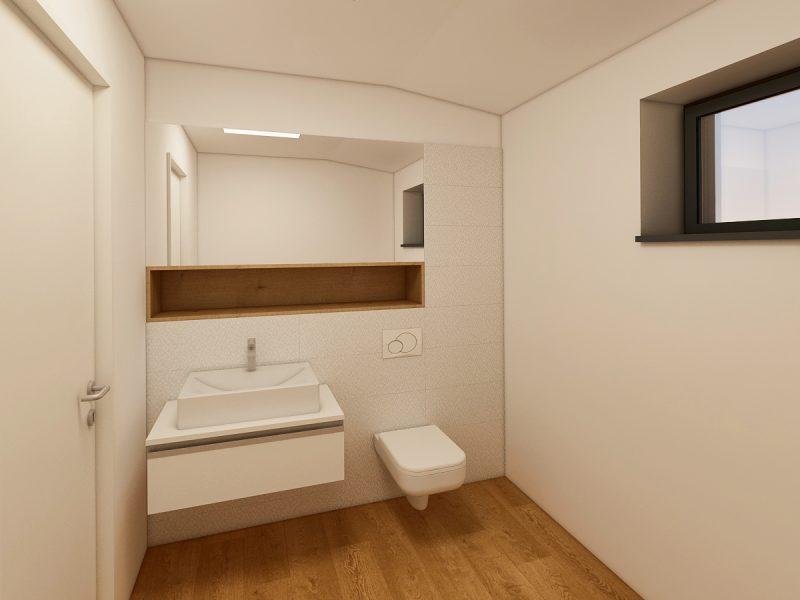Clinică medicală - Design interior grup sanitar 02