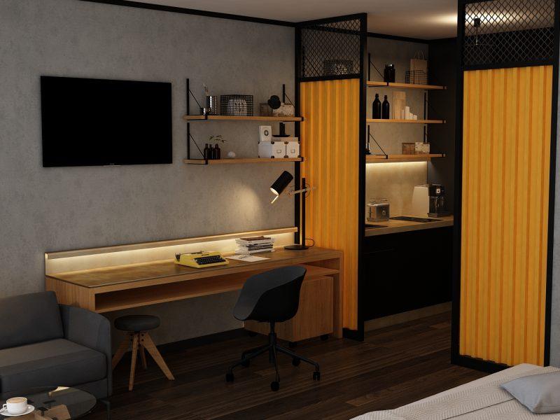 Camera Aparthotel - Birou